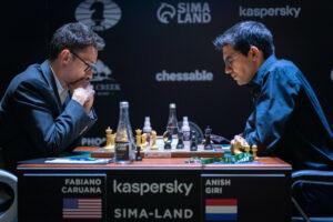 Giri vant det viktige partiet mot Caruana