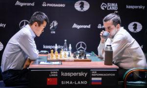 Ding Liren avsluttet sterkt med seier mot Nepomniachtchi