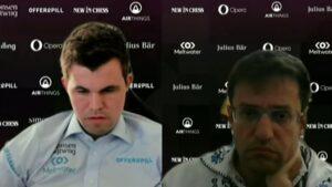 Det ble 2-2 i første delmatch mellom Carlsen og Aronian