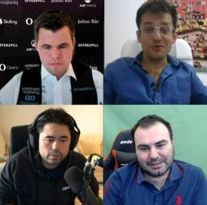 Semifinalistene Carlsen, Aronian, Nakamura og Mamedyarov