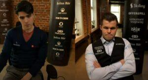 Både Tari og Carlsen er på øvre halvdel av tabellen etter 10 runder
