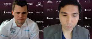 Det ble 2-2 i første demlatch mellom Carlsen og So