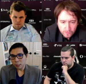Semifinalistene Carlsen, Radjabov, So og Nepomniachtchi
