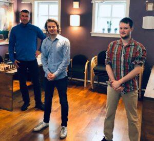 Agdestein, Mihajlov og Urkedal var de norske spillerne som kom lengst i kvalifiseringen