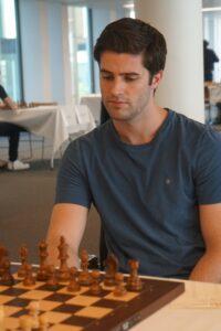 Johan Salomon er på delt førsteplass etter 3 runder