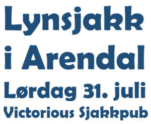Lynsjakk i Arendal
