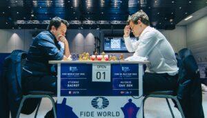 Bacrot kunne ikke stoppe Carlsen