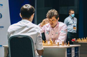 Carlsen måtte jobbe lenge for å slå ut Esipenko