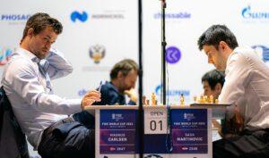Carlsen vant 2-0 mot Martinovic
