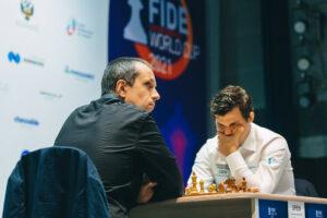 Carlsen gikk seirende ut av omspillet mot Wojtaszek