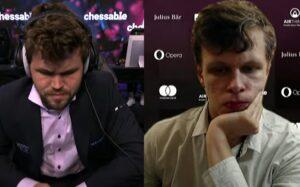 Carlsen tapte mot Artemiev i fjerde runde