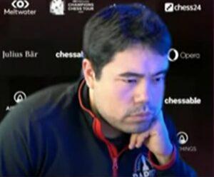 Nakamura har overtatt ledelsen etter fire runder