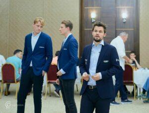 Haldorsen, Christiansen og Carlsen vant alle for Offerspill i tredje runde
