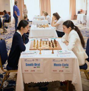 South Ural og Monte-Carlo er topplag i kvinneklassen