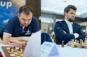 Mamedyarov presset mot Carlsen, men fikk bare remis