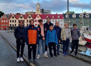 Den norske delegasjonen under Nordisk for ungdom