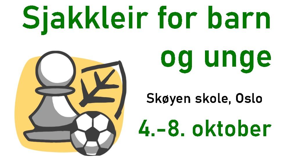 Sjakkleir for barn og unge i Oslo