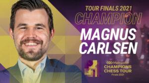 Carlsen vant siste runde og Champions Chess Tour sammenlagt