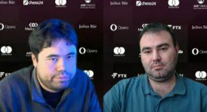 Nakamura - Mamedyarov var dagens lengste match