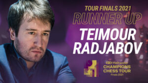 Radjabov vant finaleturneringen og ble nummer to sammenlagt