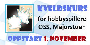 Kveldskurs for hobbyspillere i Oslo